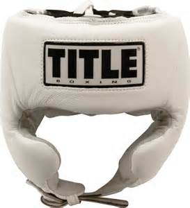 Title Headgear Cheeks White
